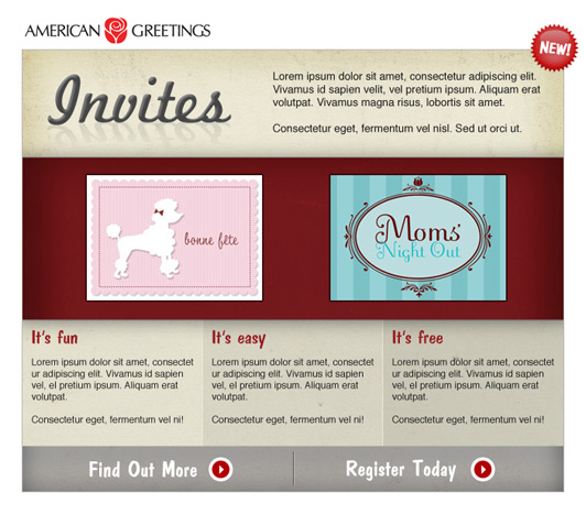 American Greetings Invites